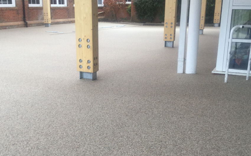 resin bound path