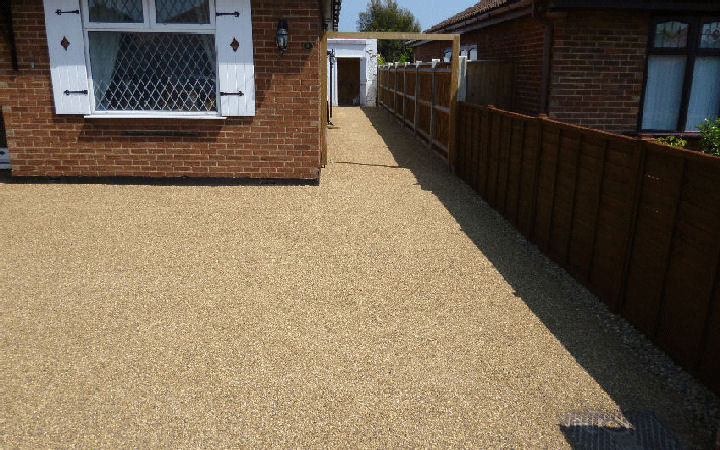 Fencing and driveway installation